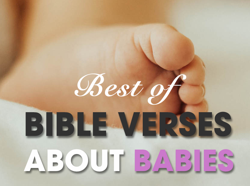 BIBLE VERSES ABOUT BABIES