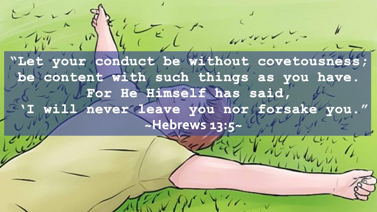 Hebrews 13:5-bible verses about healing